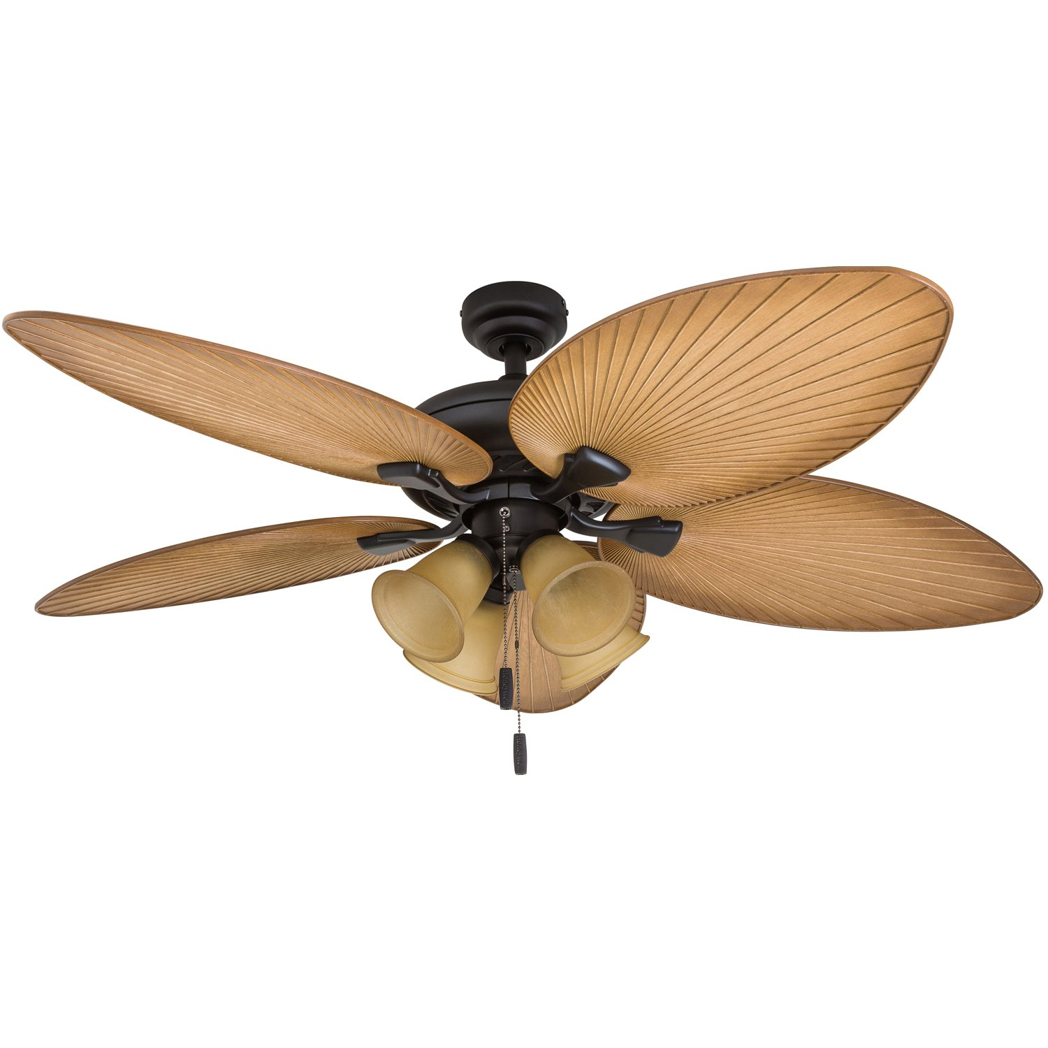 "Honeywell Ceiling Fans 50506-01 Palm Lake 52"" Ceiling Fan Sandstone"