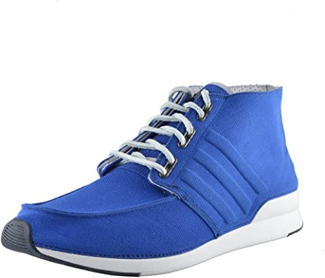adidas SLVR Men's Bright Blue Hi Top
