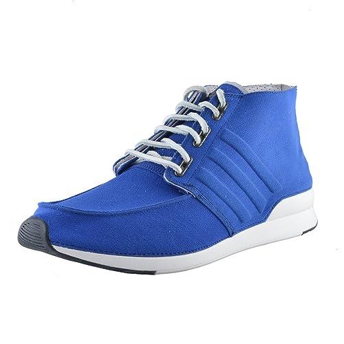adidas Scarpe da Ginnastica alla Moda Uomo, Blu (Scarpette