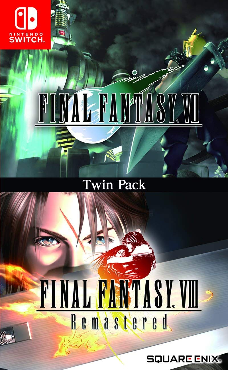 Amazon Com Switch Final Fantasy Vii And Viii Remastered Twin Pack Video Games