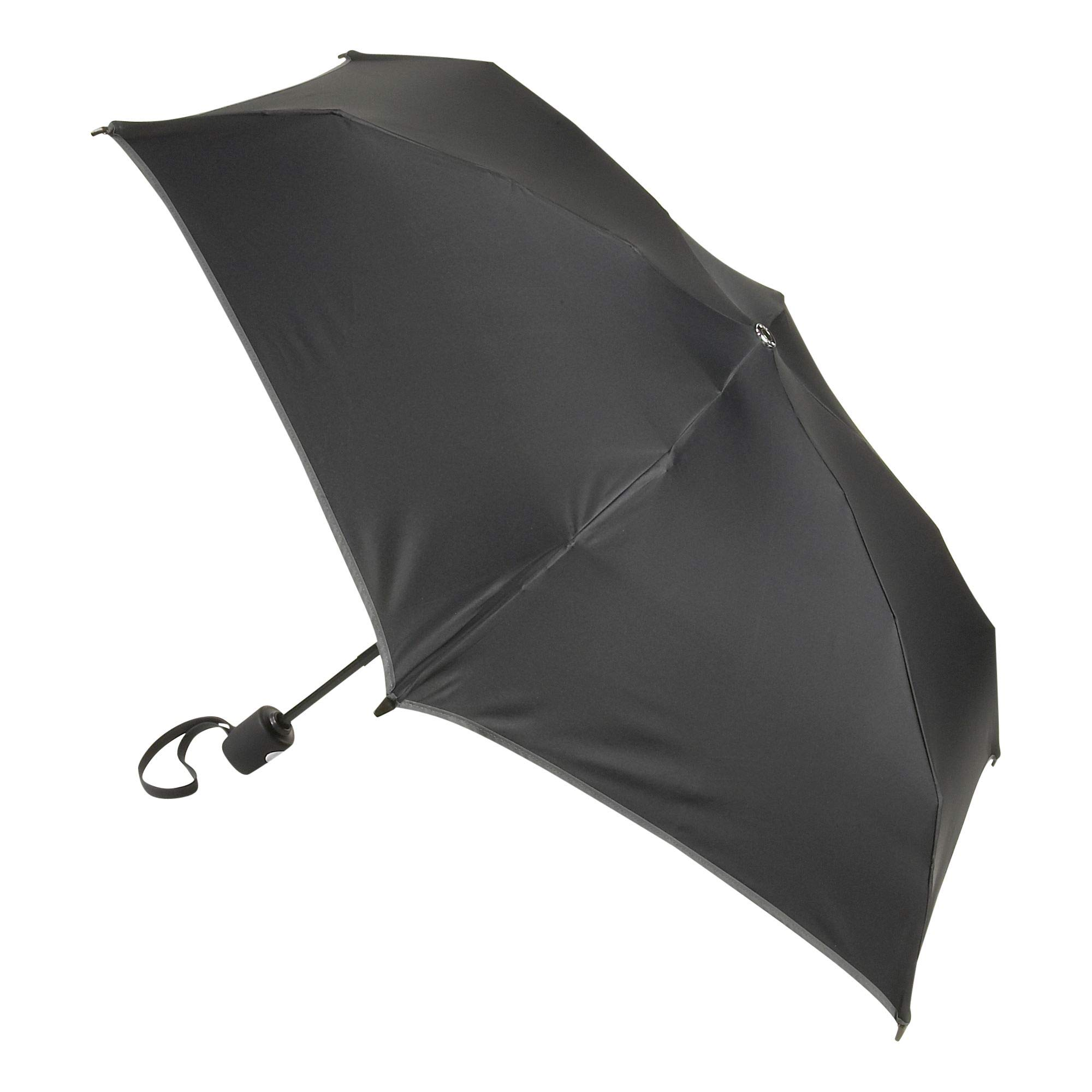TUMI - Auto Close Umbrella - Windproof Compact Travel Umbrella - Small - Black by TUMI