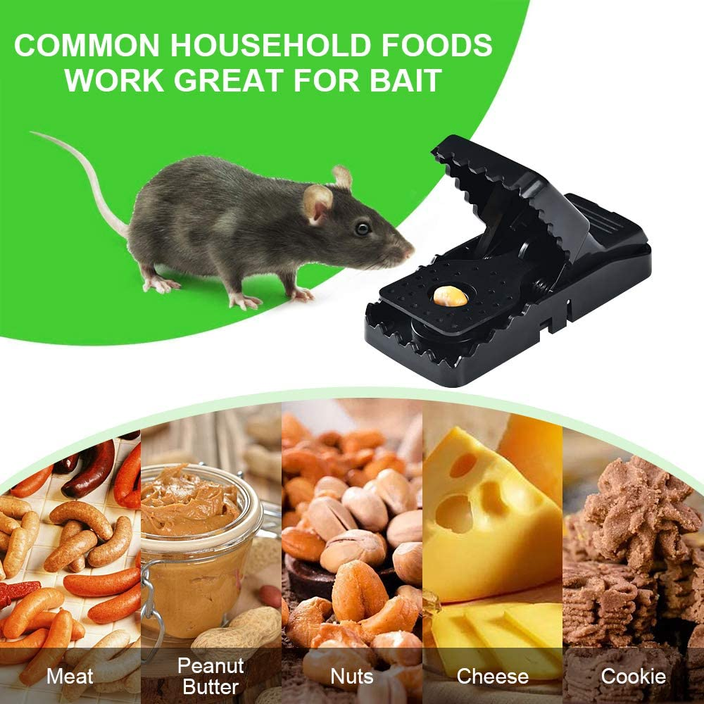 Mouse Trap 6 Pack Metal Mouse Traps Mousetrap Efficient Safe Mice Catcher Snap Trap with Removable Bait Cup for Home Office Hotel Indoor Outdoor 商品名称