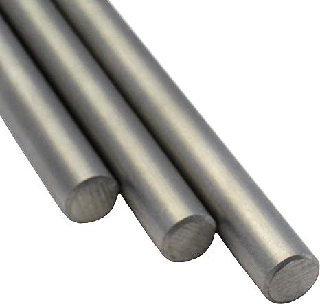 Zuschnitt 100cm Edelstahl Rundstab VA V2A 1.4301 blank h9 /Ø 6 mm L: 1000mm
