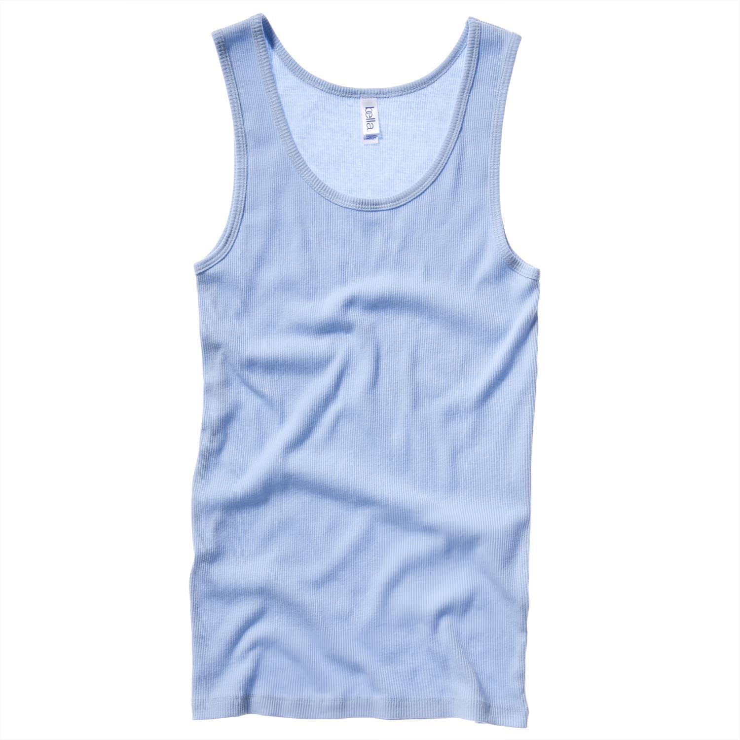 Bella Lienzo 2 x 1 RIB TANK TOP Bella + Canvas