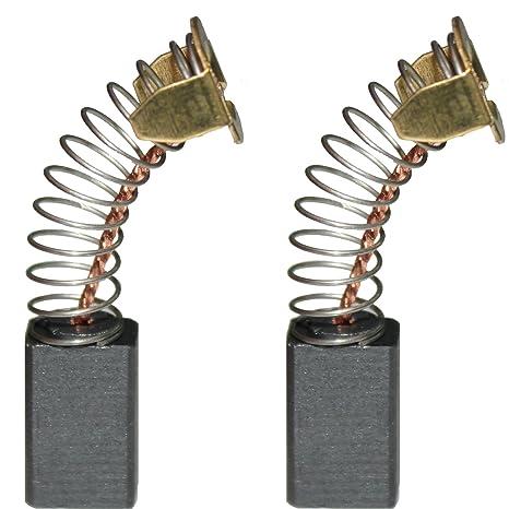 Charbon Balais Charbon plumes AEG Ponçeuse à bande BBS 100 p2098 BBSE 100-Premium