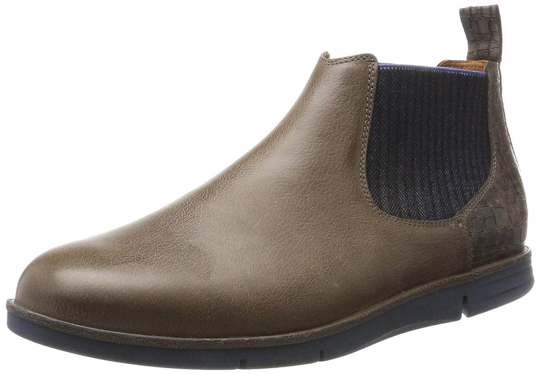 Ganter Herren Gabriel g Chelsea Boots Grau (Smoke/Fango)