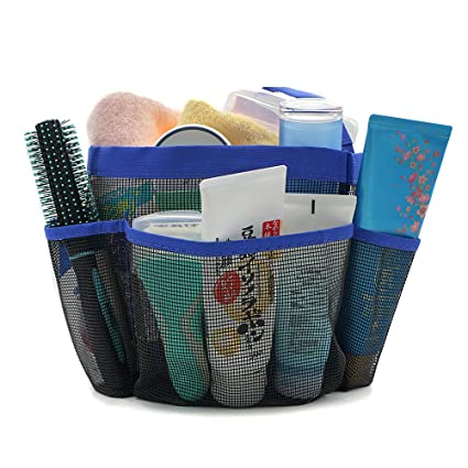 Amazon.com: Hotsan Mesh Shower Caddy, Quick Dry College Shower Tote ...