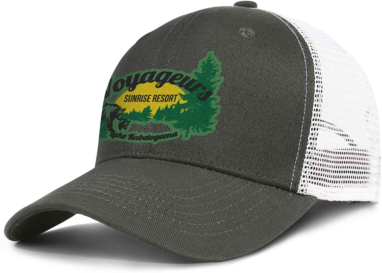 Voyageurs National Park Baseball Hat Man Womens Adjustable Mesh Sports Flat Cap
