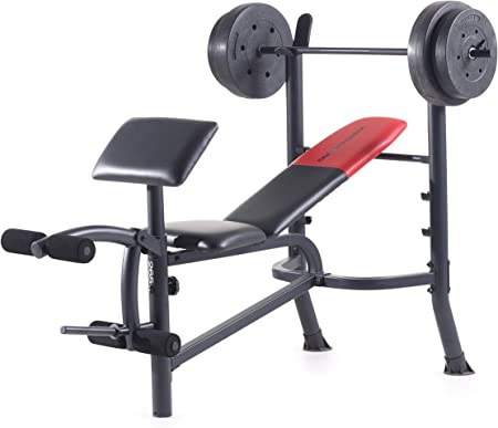 side facing weider pro 265 weight bench