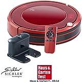 Sichler Saugroboter: Staubsauger-Roboter PCR-3550UV mit Ladestation, HEPA Filter & UV-Lampe (2in1 Saug Bodenwisch Roboter)