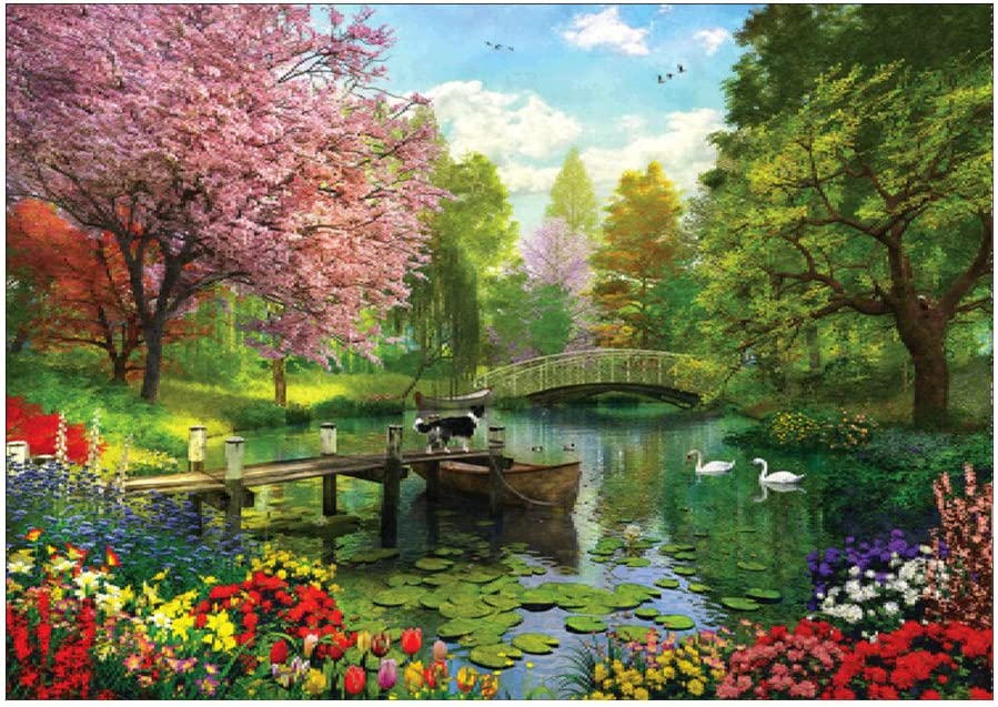 Crystal Rhinestone Embroidery Pictures Arts Craft Gift YiFeiCT Scenery DIY 5D Diamond Painting Full Kits