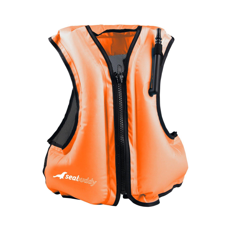 Amazon.com: sealbuddy ZipUp Snorkel – Chaleco salvavidas ...
