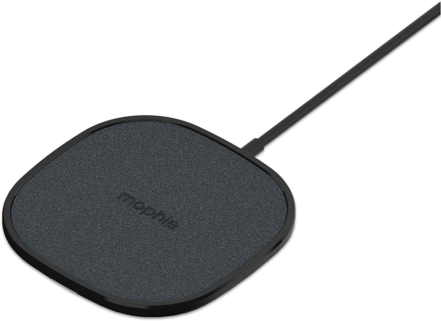 Mophie Wireless 15W Charging Pad - Made for Qi Enabled Samsung smarthones, Apple Airpods, iPhone 11 Pro Max/XS Max, iPhone 11 Pro/XS, iPhone 11 / XR and Other Qi-Enabled Devices - Black (401305902)