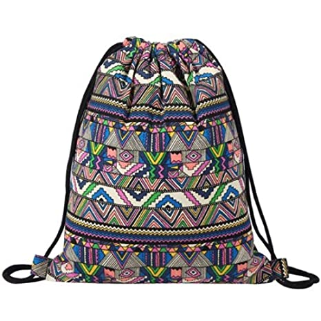 Amazon.com | Crayon Shine - National Women Canvas Drawstring ...