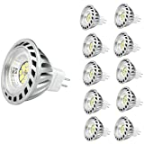 CYLED 12V6W Mr16 Led Bulbs -4500K Spotlight - 500 Lumen, 50Watt Equivalent - 45 Degree Beam Angle Pack of 10 Units Day…