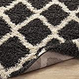 Sweet Home Stores Cozy Shag Collection Charcoal