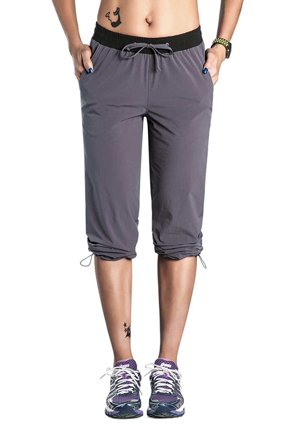 Nonwe Womens Outdoor Quick Drying Hiking Cargo Pants