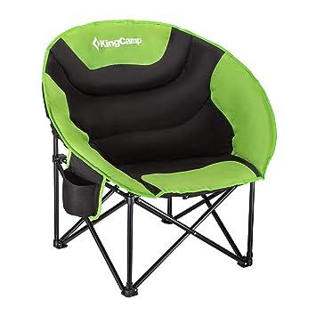 Amazon.com: Kingcamp Silla plegable portátil Luna de ...