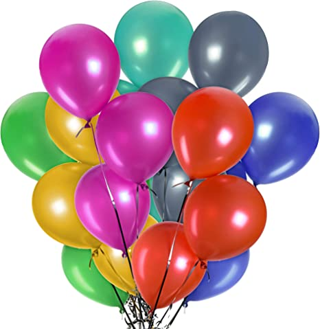 25 50 Latex Happy Birthday Balloons Helium Quality Party Birthday Wedding