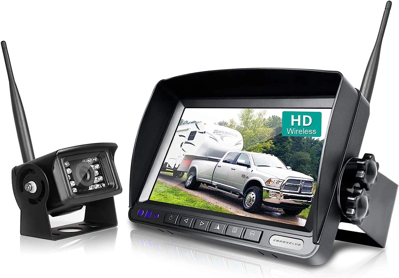 ZEROXCLUB W01 Digital Wireless Backup Camera