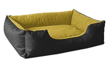 BedDog colchón para Perro LUPI S hasta XXXL, 24 Colores, Cama para Perro, sofá para Perro, Cesta para Perro, S Negro/Amarillo: Amazon.es: Productos para ...