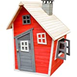 Maison écologique de jeux pour enfants en Bois d'épicéa Maison de Jardin Enfants Bois