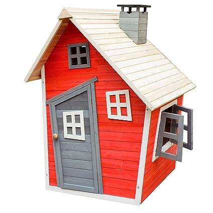 Super Umweltfreundliches Spielhaus für Kinder aus Fichtenholz DI79