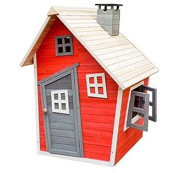 Umweltfreundliches Spielhaus Fur Kinder Aus Fichtenholz