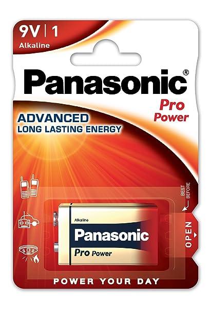 Panasonic Blister 1 Pila Alcalina 6LF22 9V Pro Power