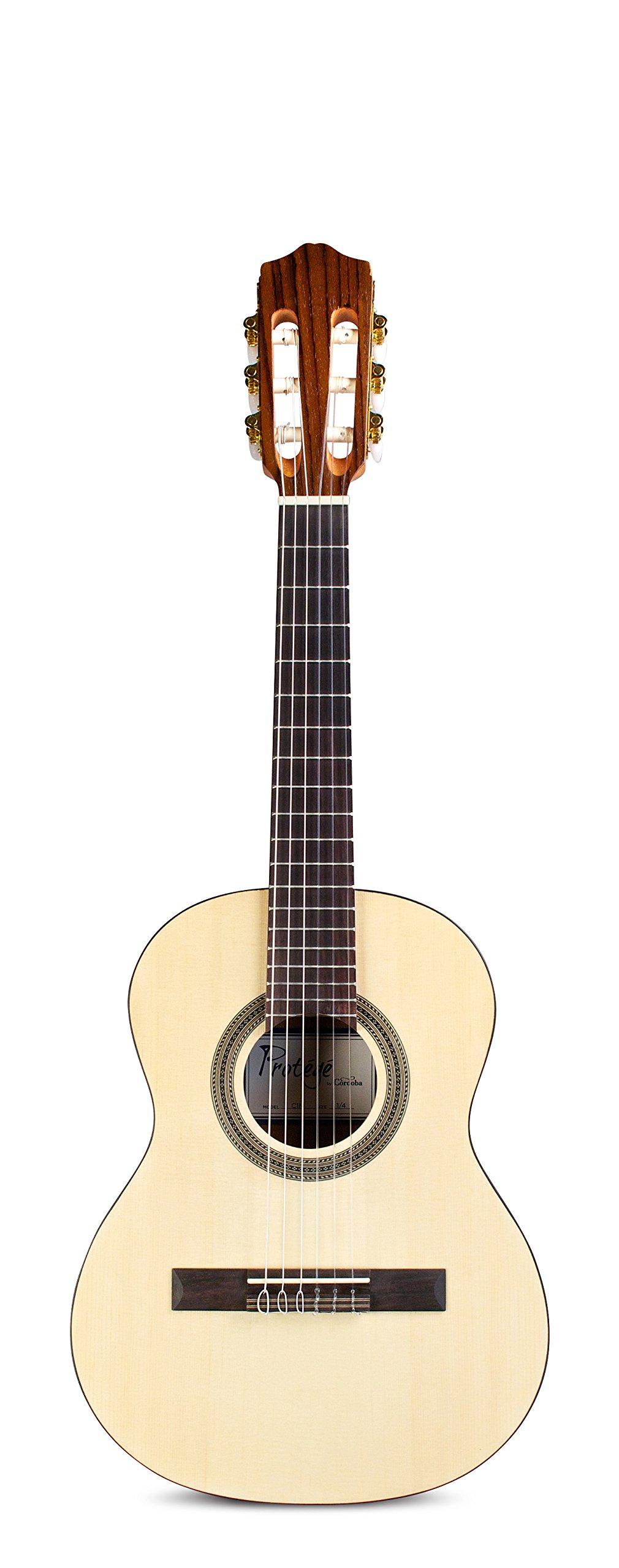 Cordoba Guitars C1M 1/4 Acoustic Nylon String Guitar, 1/4 size