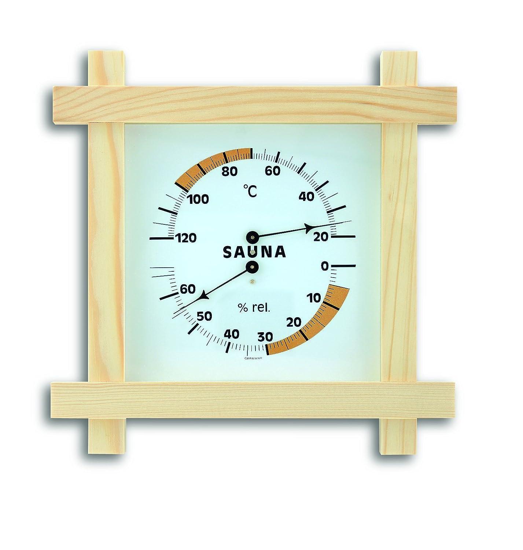 TFA 40.1008 220 x 220 x 51mm Sauna Thermo-Hygrometer Artikel 40.1008