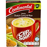 Continental Cup A Soup Dutch Curry with Rice, 2 serves each, 7 x 55g