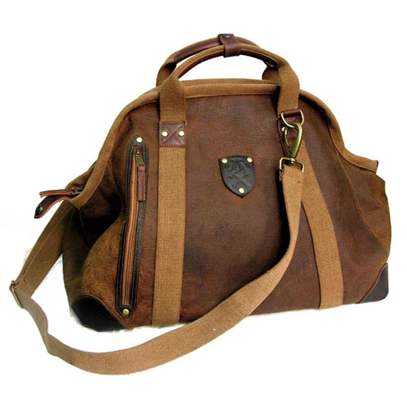 Kakadu Traders Traveller Series Large Doctor's Bag, made from Genuine Leather by KakaduTraders Australia