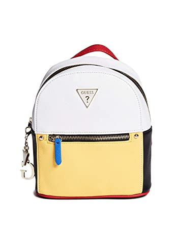a5e5a8a84cd Amazon.com   GUESS Factory Women s Lilya Logo Convertible Mini Backpack    Casual Daypacks