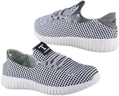 Boys Casual White Canvas Sneakers