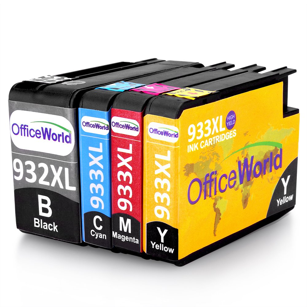 OfficeWorld Compatible Ink Cartridges Replacement For HP 932XL