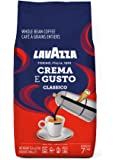 Lavazza Crema E Gusto Whole Bean Coffee Dark Roast 2lb Bag, Crema E Gusto, 2lb