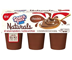 Snack Pack Naturals Pudding