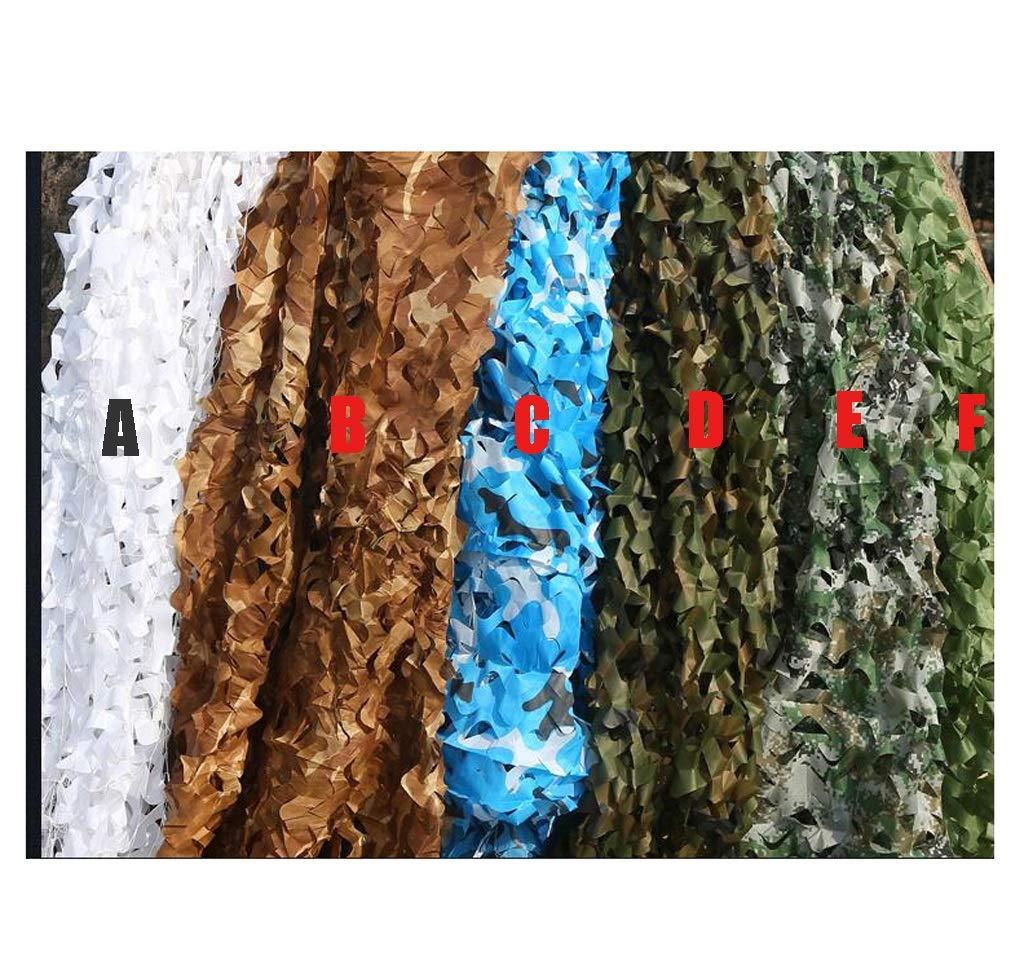 迷彩ネット、リリースカモフラージュネット、キャンプ隠しに適した高密度のオックスフォード布、カバー車(様々な色と複数の色が利用可能) (色 : F f, サイズ さいず : 6 * 6) 6*6 F f B07HP2S533