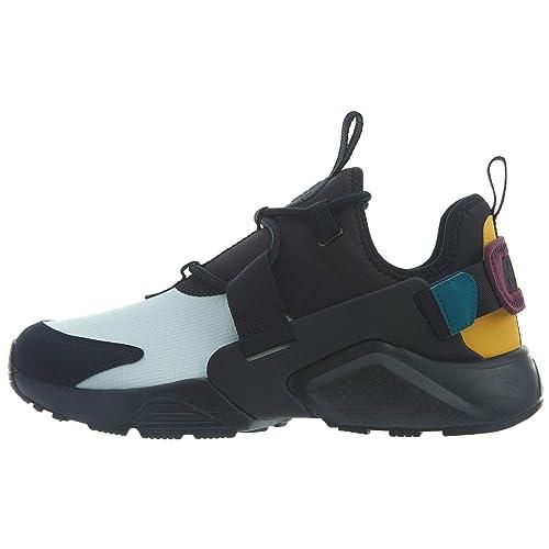 Nike AIR HUARACHE Damen Sneakers Leder Textil