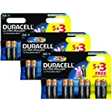 Duracell MX1500 Ultra Power Lot de 24 piles AA