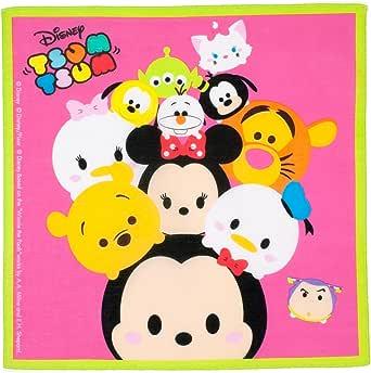Tsum-Tsum » niño pañuelos - 100% algodón - 33 cm - 3 piezas: Amazon.es: Ropa y accesorios
