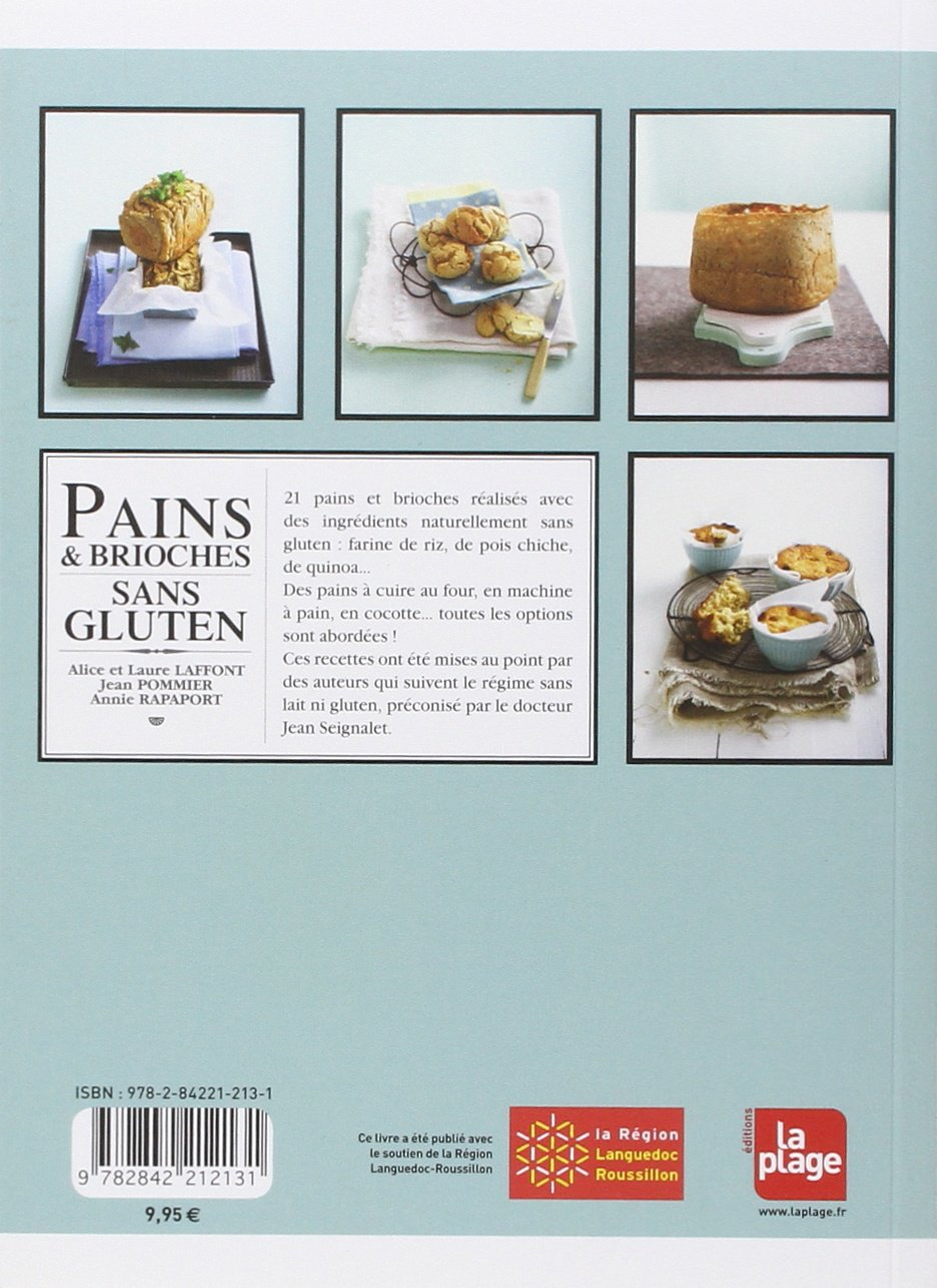 Pains et brioches sans gluten (LP.NON ALCOOLIS): Amazon.es ...