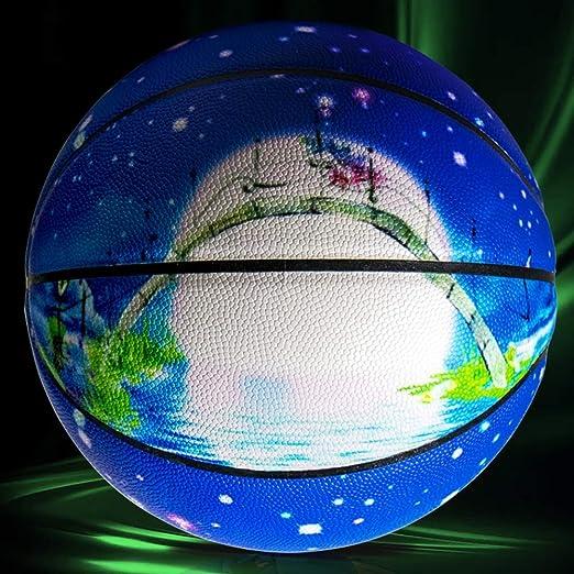 Baloncesto, Baloncesto De Fluorescencia, Luminoso No 7 Único Balón ...