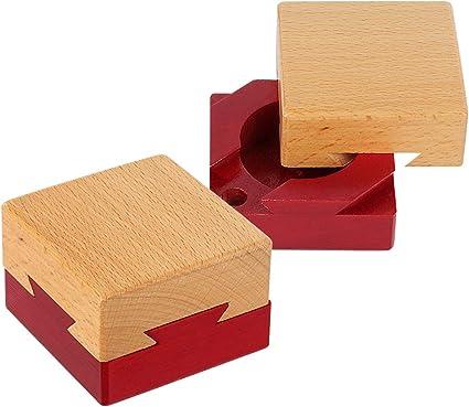 GELE Magic Puzzle Box decryption Box Super Hard Brain Burning Decompression Suggestion Confession Gift Educational Toy Log, L
