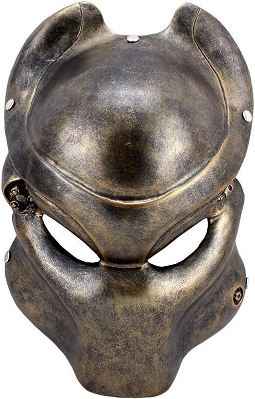 Resina película máscara máscara de Alien vs depredador disfraz ...
