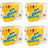 Bounty Basic Big Roll Select-a-Size Print Paper Towels, 95 sheets, 6 rolls (Pack of 4)
