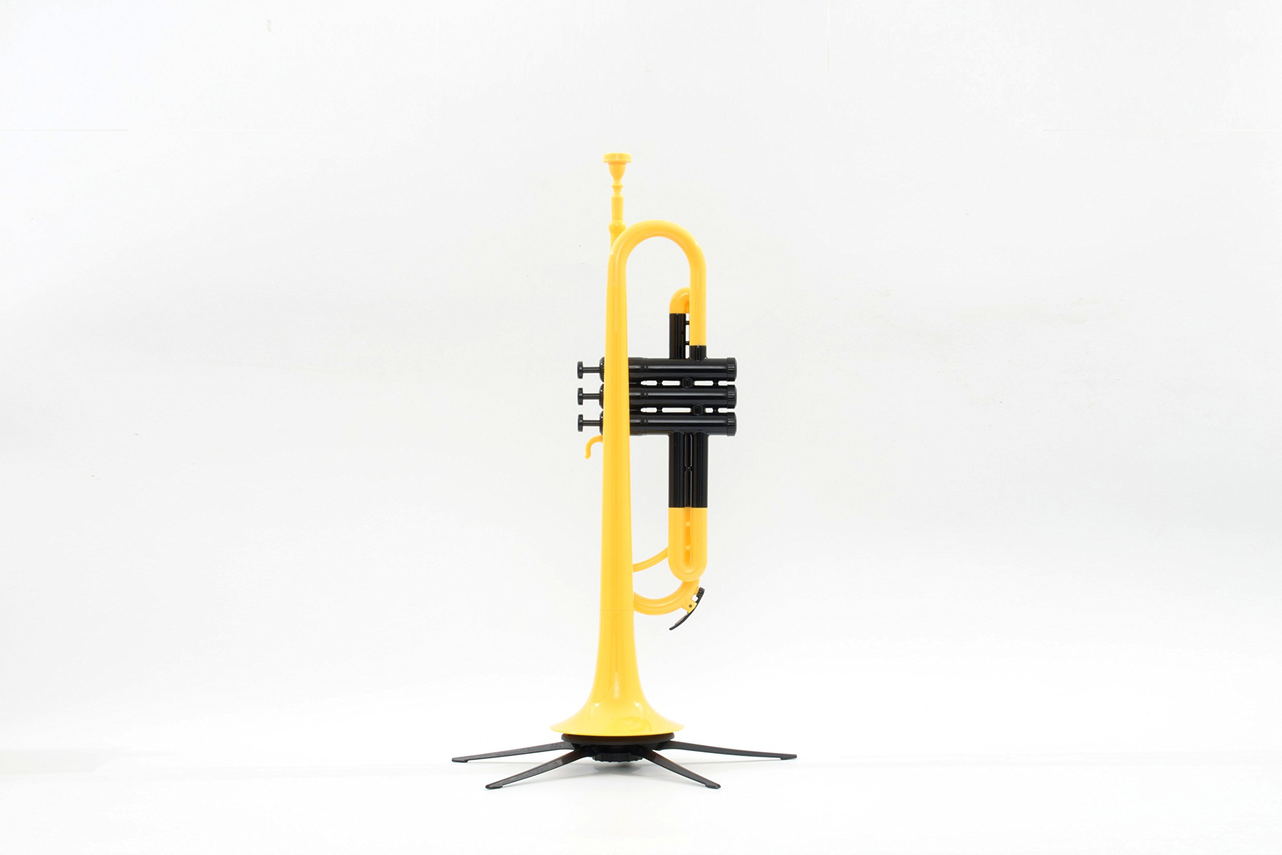 PAMPET Professional Plastic Trumpet Bb trumpet (Yellow) by PAMPET