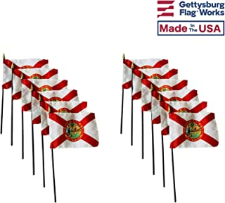 product image for 4x6 E-Gloss Florida Stick Flag - Flag Only - Qty 12