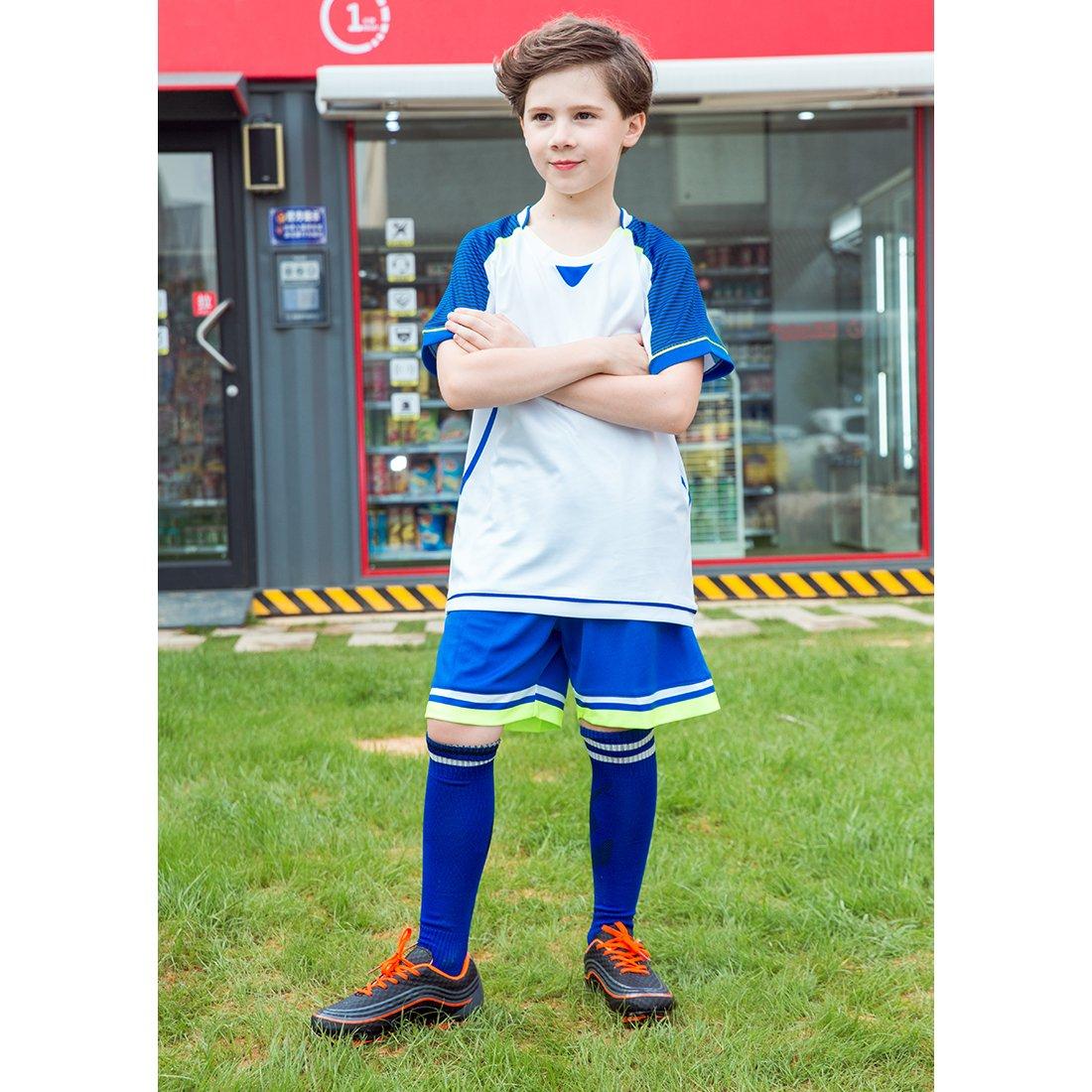 30832cace509 Galleon - Hawkwell Athletic Outdoor/Indoor Comfortable Soccer Shoes(Toddler/Little  Kid/Big Kid) (12M US Little Kid, Black/Orange-1)